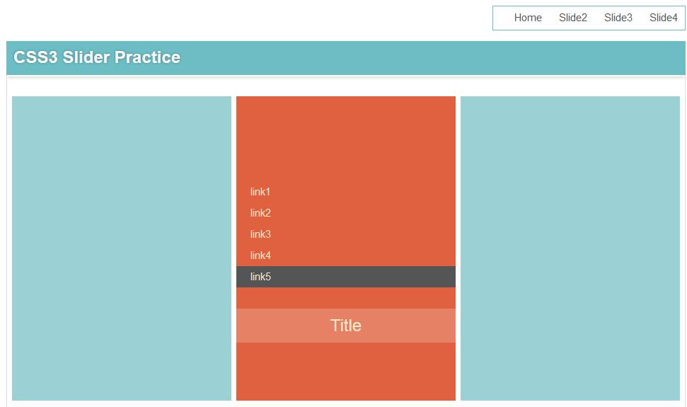 超酷的CSS3幻灯片效果