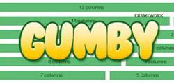 CSS 网格框架 Gumby