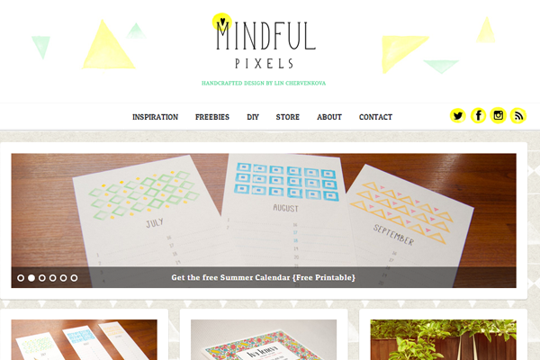 Lin Chervenkova portfolio website designer