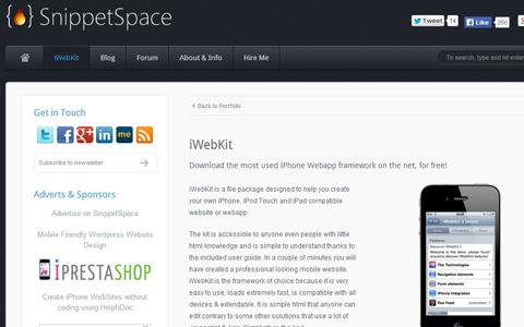 03-iwebkit-open-source-project-homepage