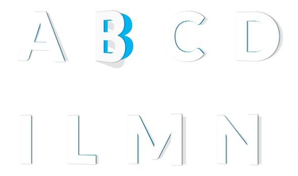 html5-3d-letter-text